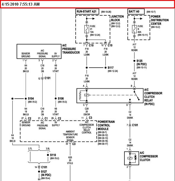 04 Pac Car Ac Compressor Wiring Diagram