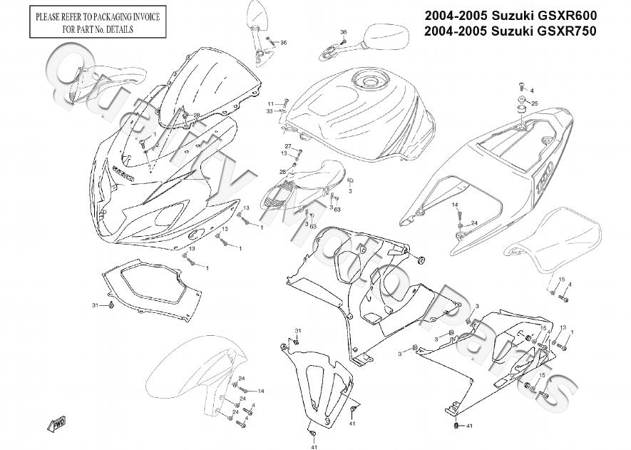 05 Gsxr 600 Speedometer Wiring Diagram