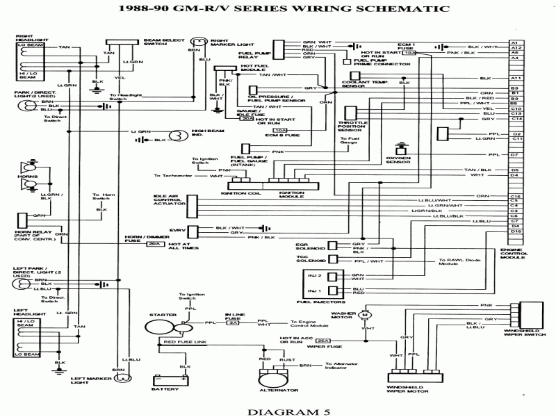 06 Chevy Express 4 3l Wiring Diagram