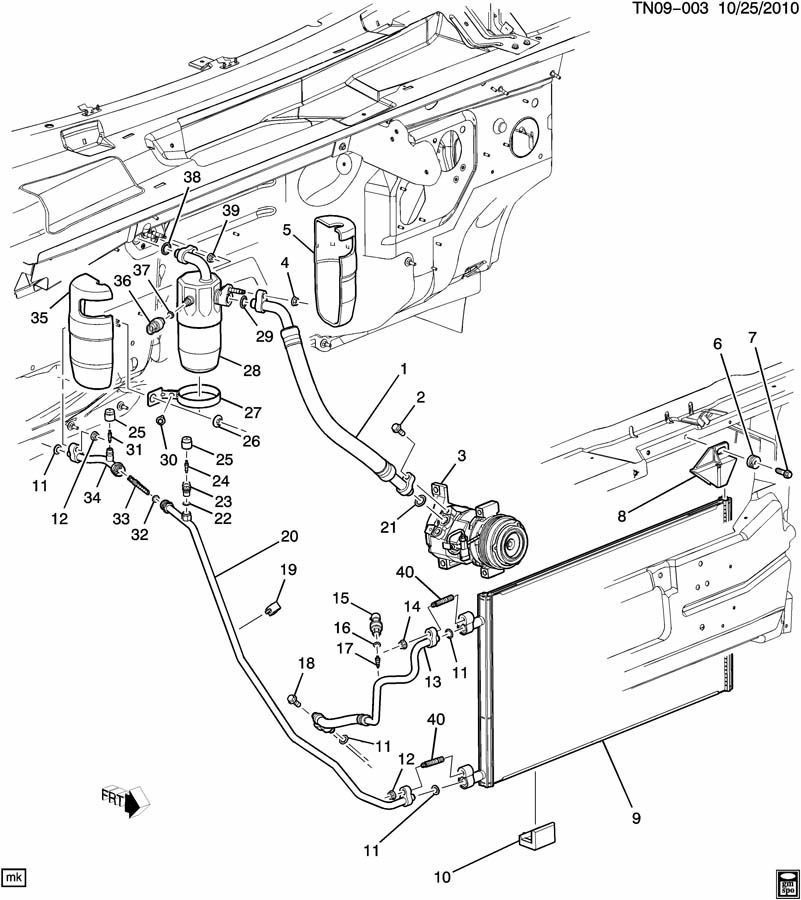 Air Conditioning Ac Compressor Wiring Diagram from wiringall.com