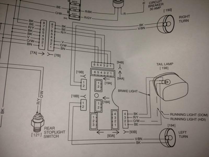 09 Sportster Front Blinker Plug Wiring Diagram