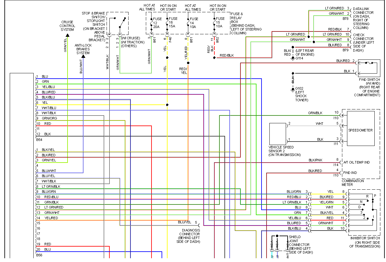 09 Subaru Forester 2.5 Coil Pack Wiring Diagram
