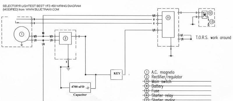 12v Yamaha Raptor 700r Wiring Diagram