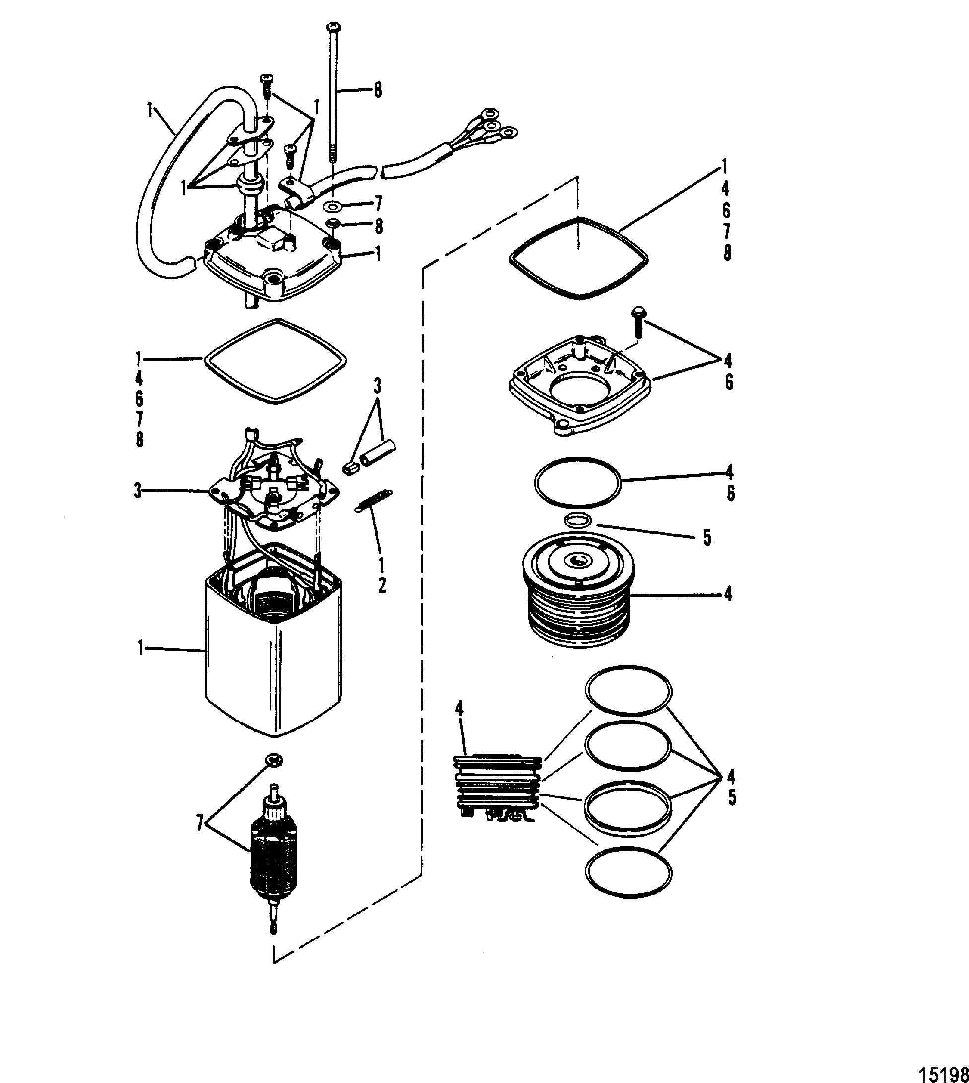 150hp Mercury Outboard Power Trim Wiring Diagram