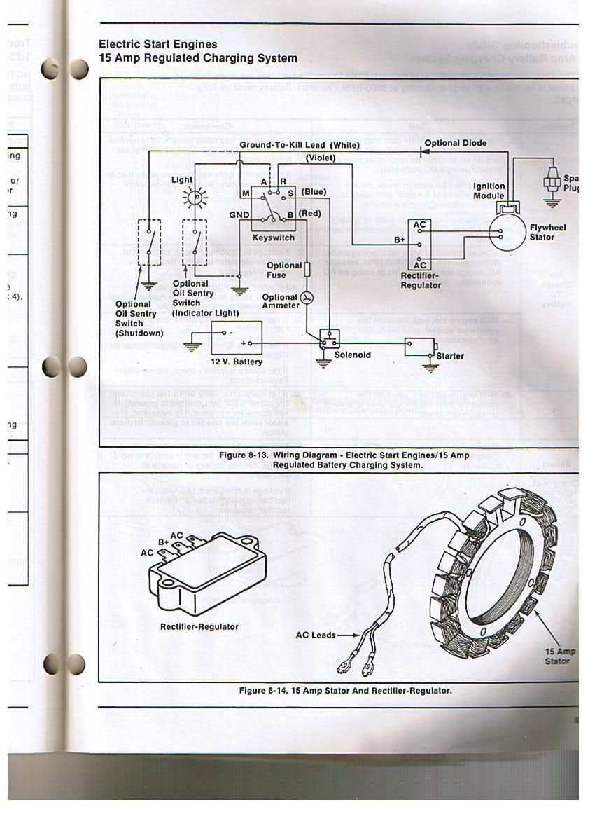 18 Hp Briggs Charging Wiring Diagram Diode