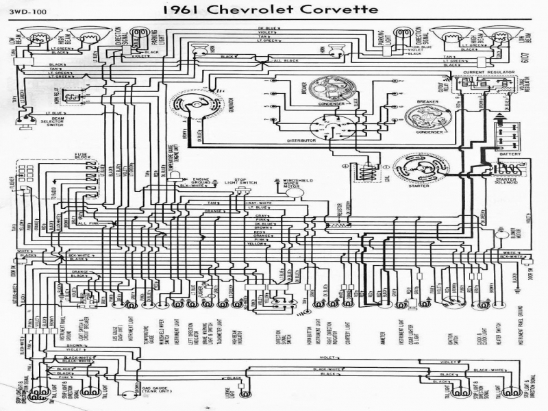 1967 Corvette Ammeter Wiring Diagram