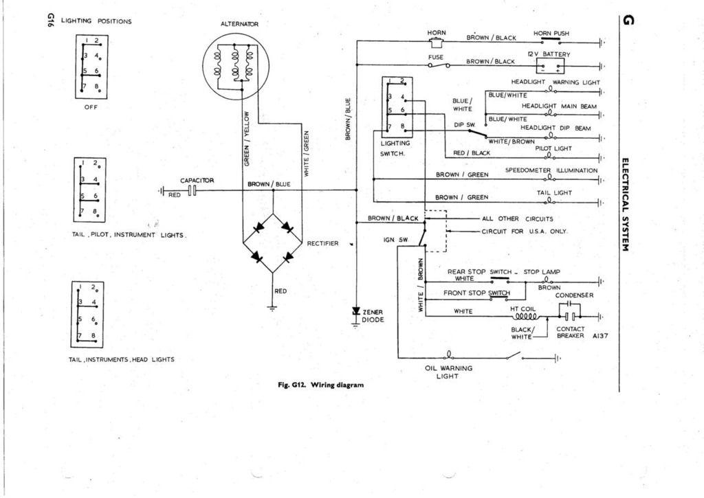Bsa A10 Wiring Diagram Gota Wiring Diagram