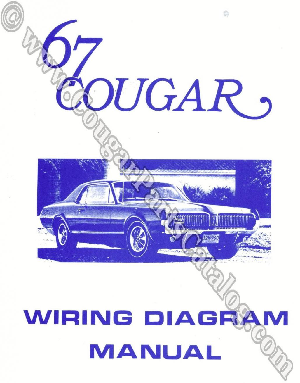 1968 Mercury Cougar Sequential Turn Signal Wiring Diagram