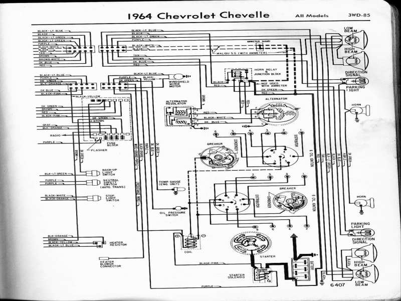 1971 Chevelle Engine Wiring Diagram