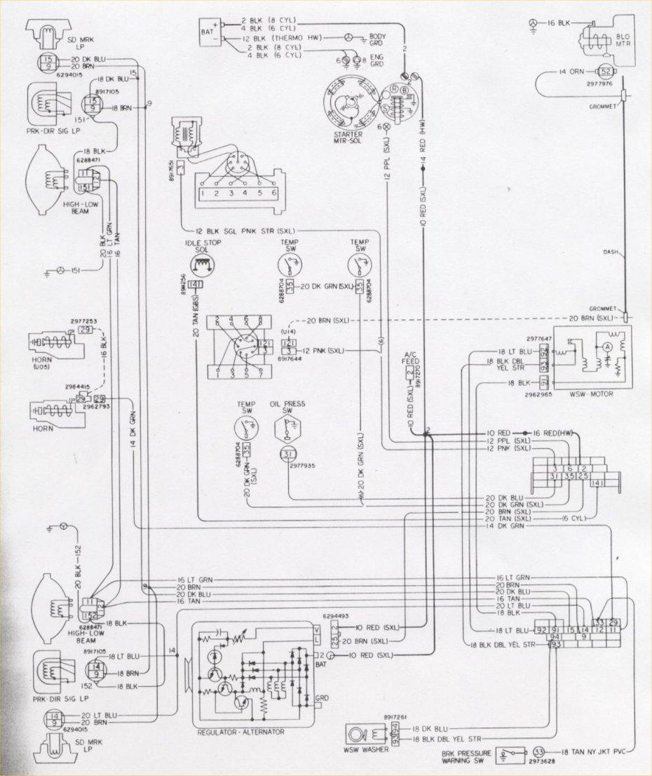 1976 Chevy P30 Electrical Wiring Diagram