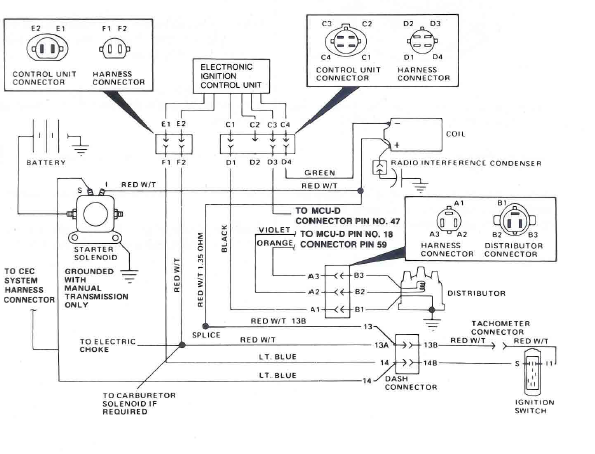 1983 cj7 hei wiring diagram