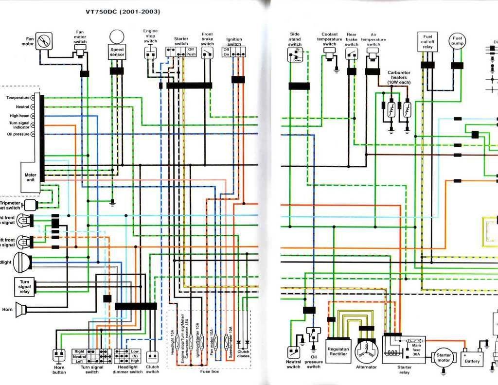 1983 Honda Shadow Vt750 Wiring Diagram