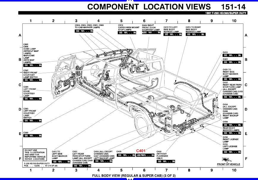 1989 Ford F350tail Light Wiring Diagram