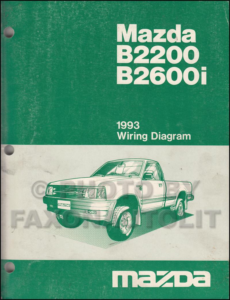 1993 Mazda B2600i Fuel Pump Wiring Diagram