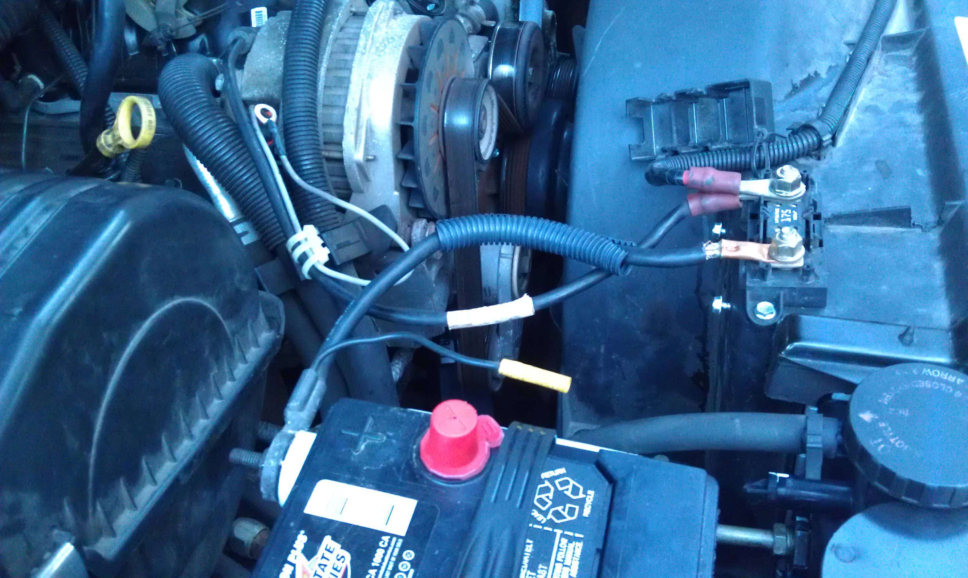 gmc   starter wiring diagram