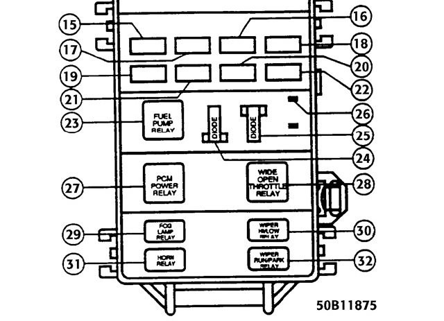 1996-mazda-b2300-radio-wiring-diagram-2  Mazda Truck Fuse Diagram on