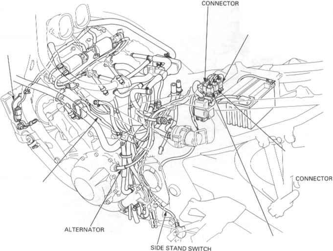 1998 honda cbr 600 f3 wiring diagram