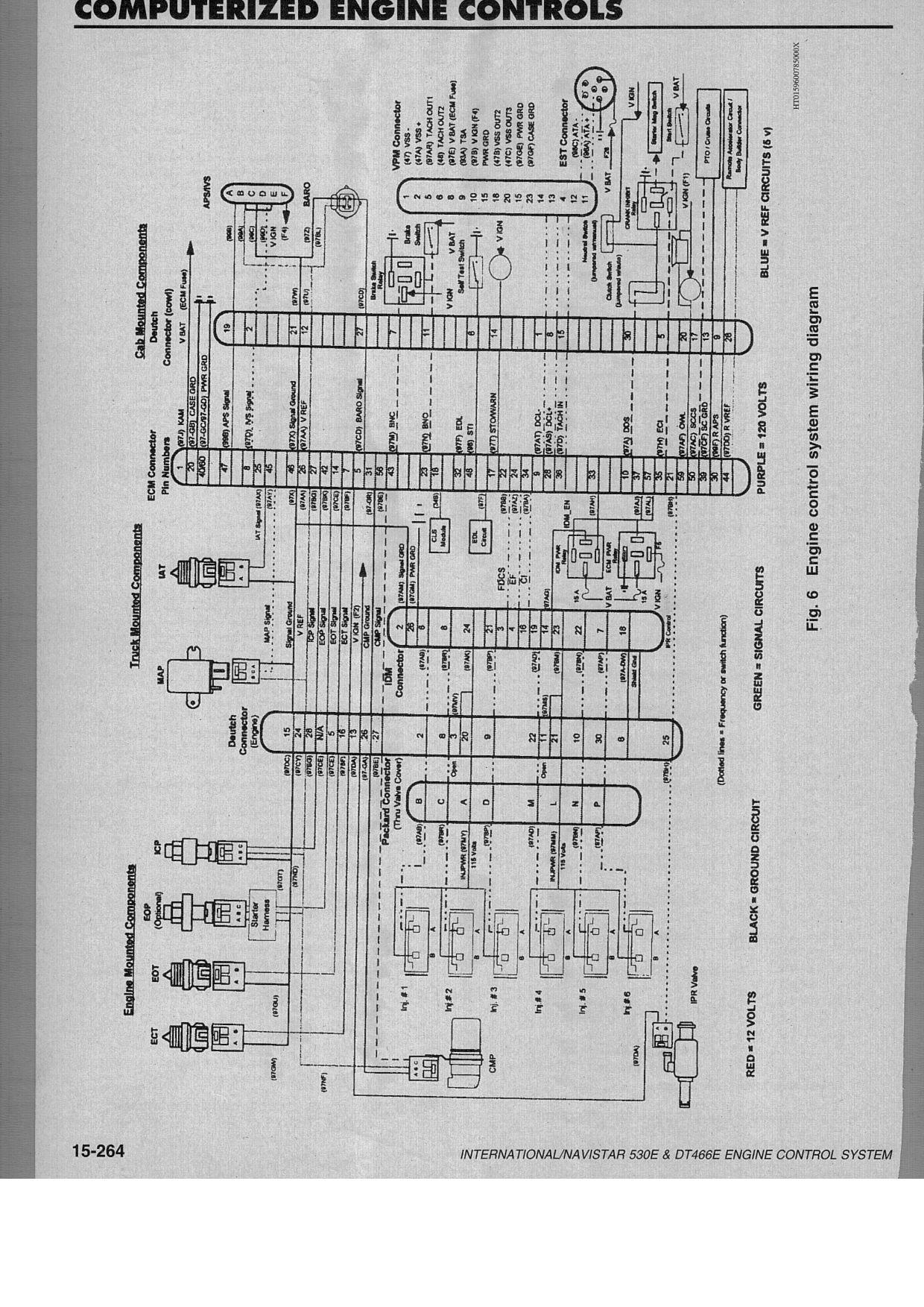 1998 International 4700 Dt466e Wiring Diagram