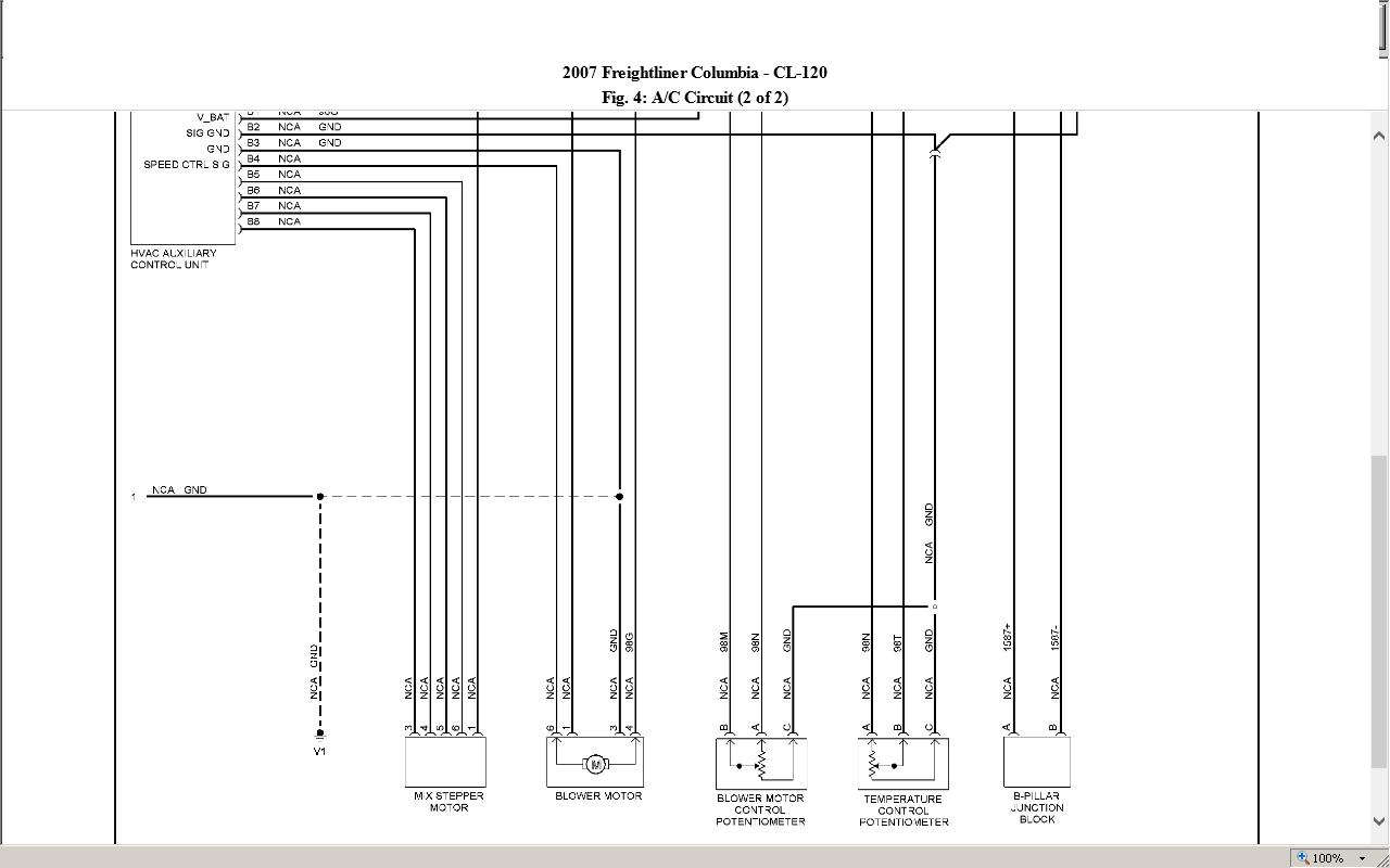 2000 freightliner fl60 fuse panel diagram. Black Bedroom Furniture Sets. Home Design Ideas