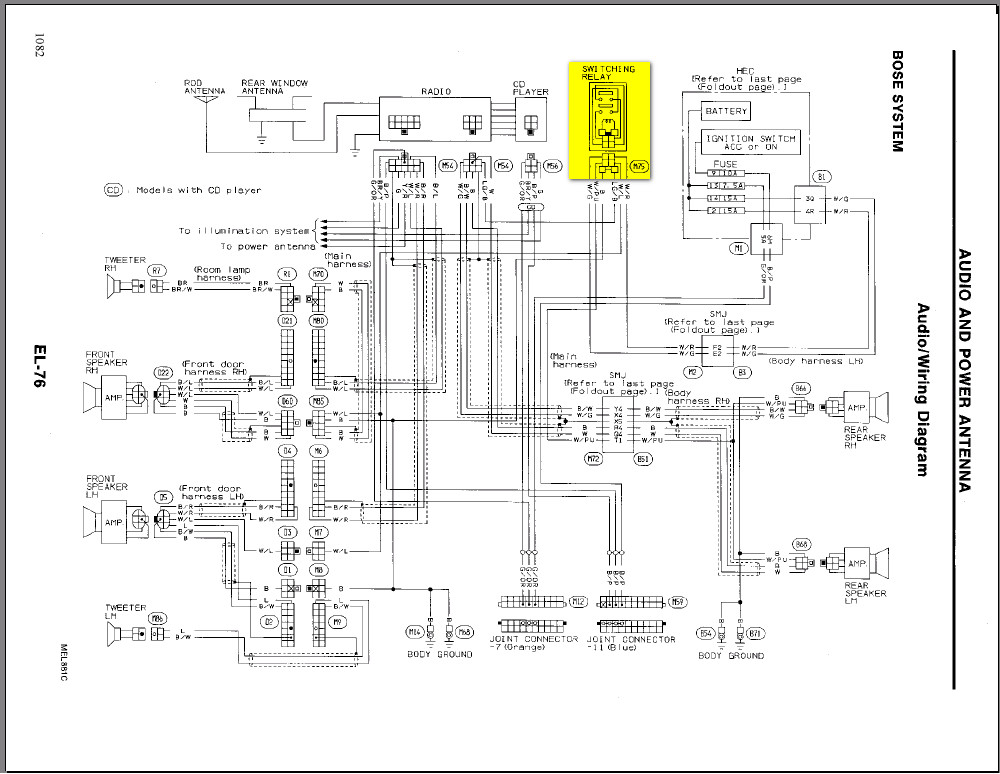 2000 Infiniti Qx4 Hid Headlight Wiring Diagram