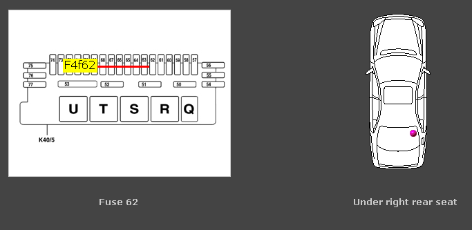 2000 Mercedes S430 Fuse Box Diagram