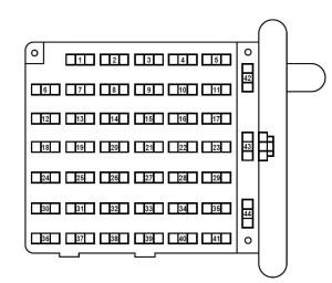 2001 ford e150 fuse box diagram. Black Bedroom Furniture Sets. Home Design Ideas