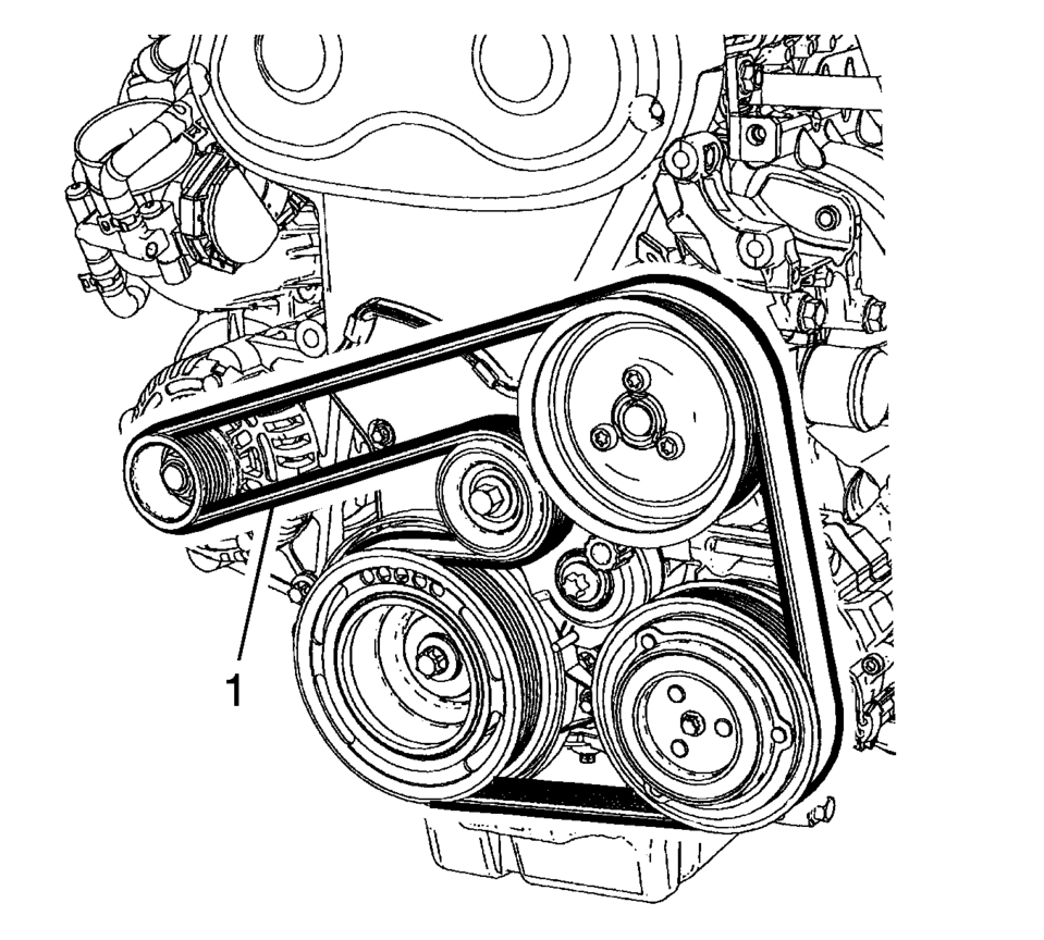 2002 Chevy Venture Serpentine Belt Diagram