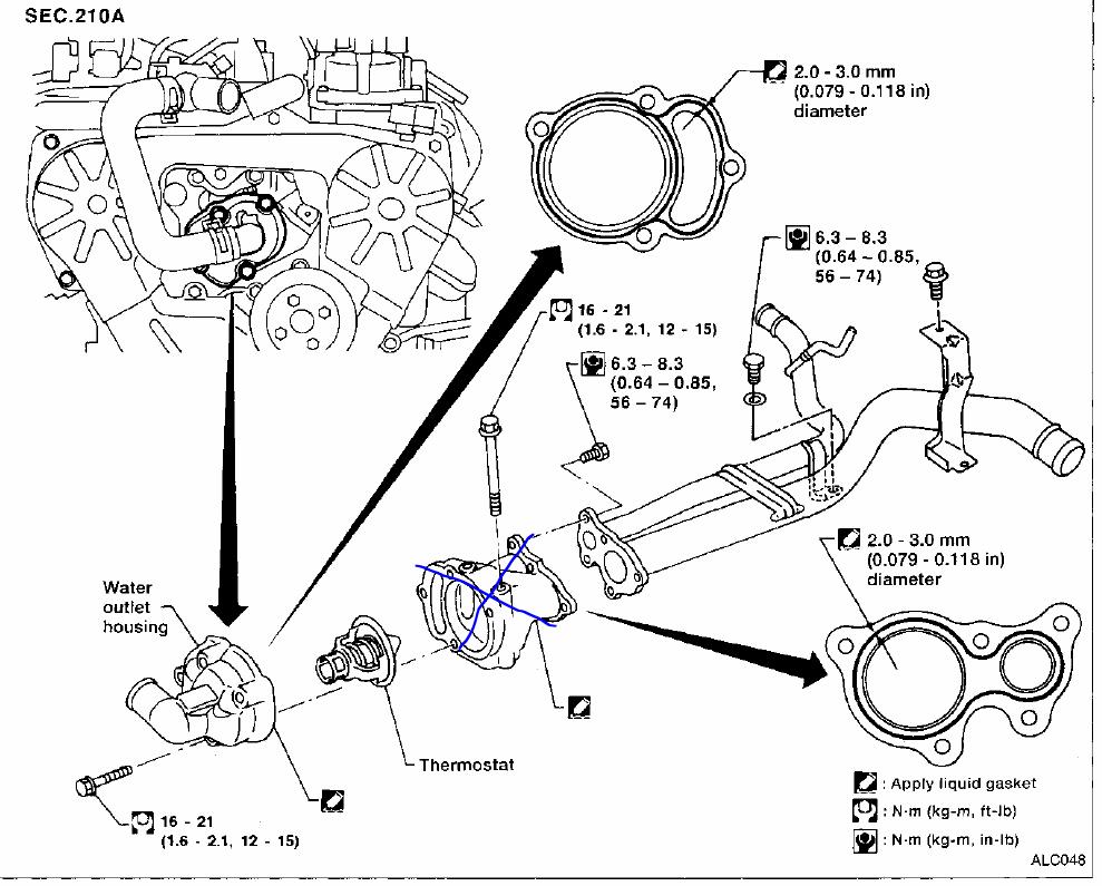 2002 Nissan Altima 2 5 Belt Diagram