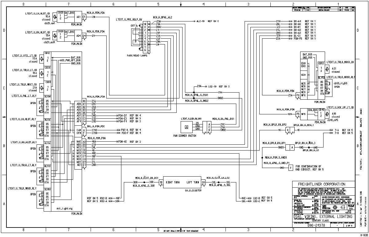 2002 Thomas Bus Freightliner Heater Wiring Diagram