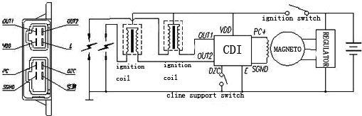 2005 Vento 250 V Thunder Wiring Diagram