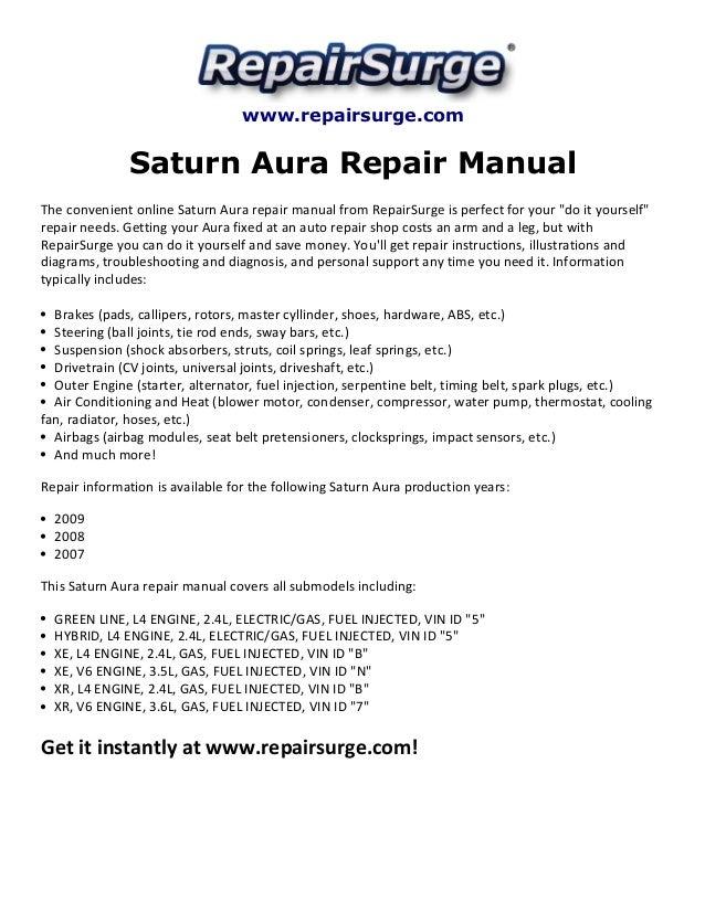 2007 Saturn Aura Wiring Diagram 3 6 Engine