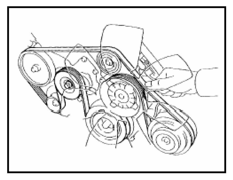 2007 Toyota Tundra 5 7 Serpentine Belt Diagram