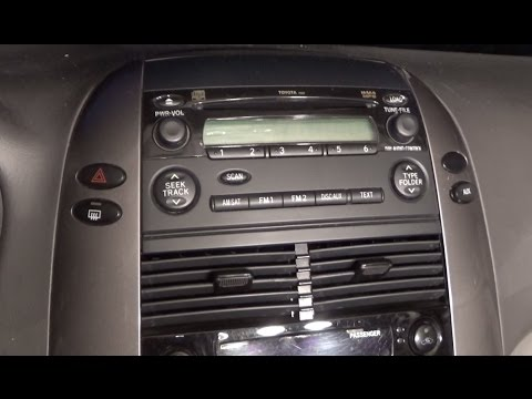 2011 Sienna Le Center Console Wiring Diagram