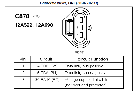 2013 Ford Fiesta P0340 Wiring Diagram