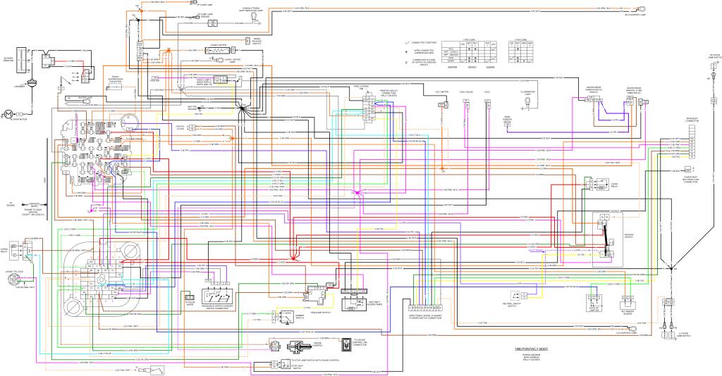 2nd Gen Pontiac Firebird Wiring Diagram