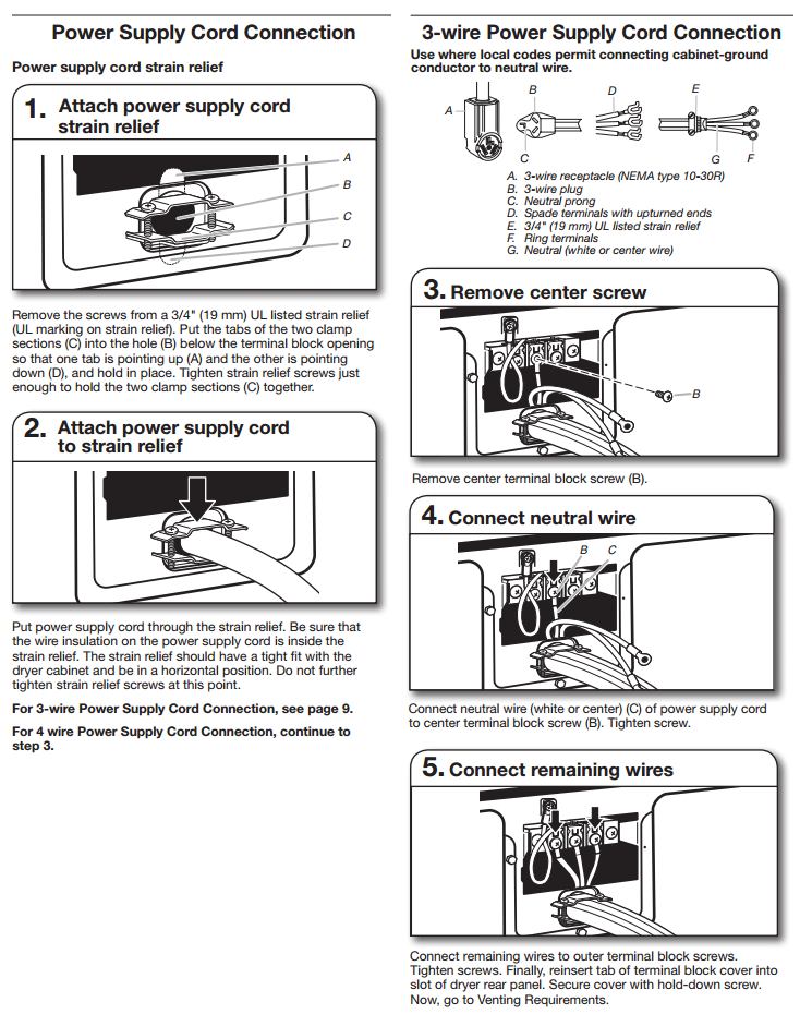 3 Prong Stove Outlet Wiring