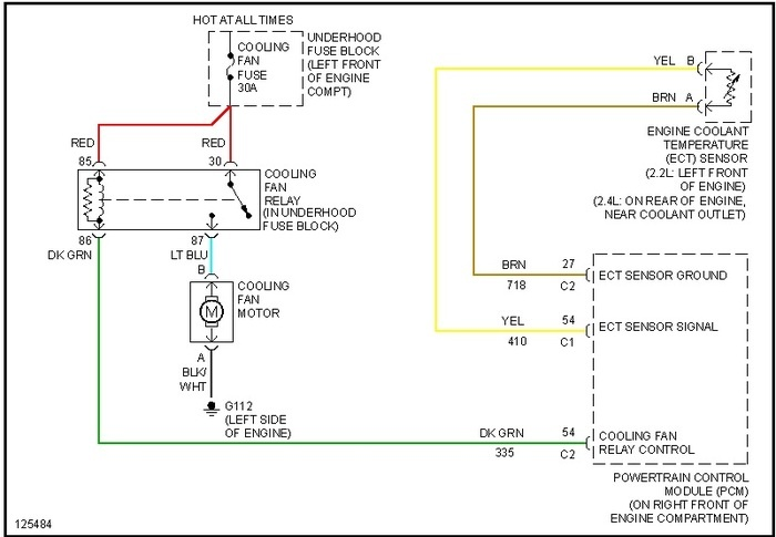 3 4 Alternator Wiring Diagram Pontiac Grand Am