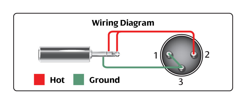 3 5 Mm To Xlr Wiring Diagram