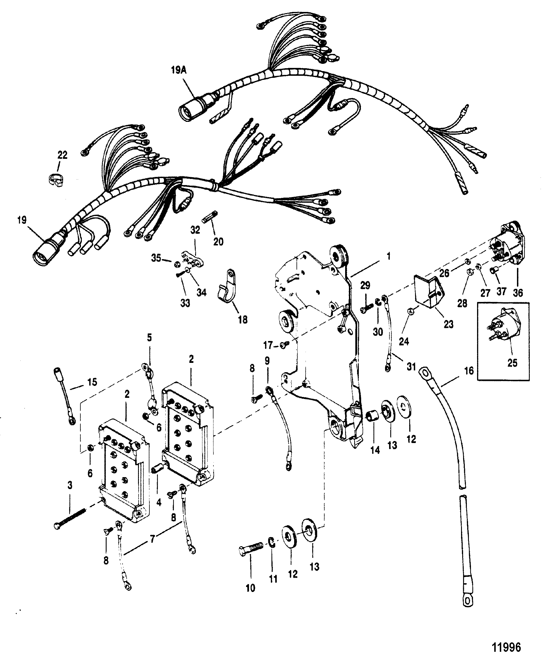 40hp Mariner Magnum Wiring Diagram