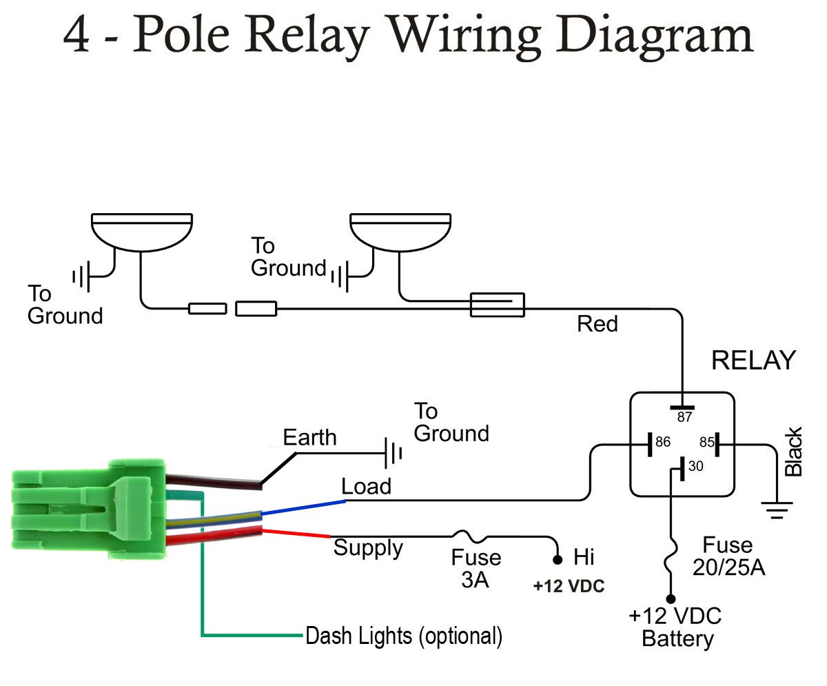 4515 Spot Light Wiring Diagram