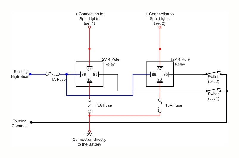 4515 Spot Light Wiring Diagram