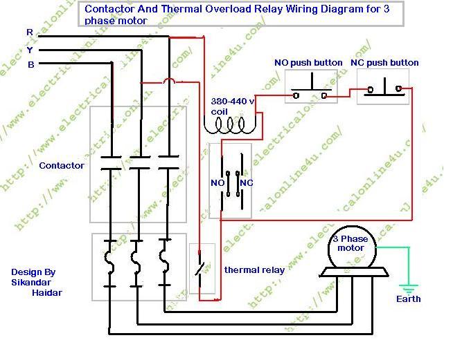 460v 3 Phase Hvac Schematic Wiring Diagram