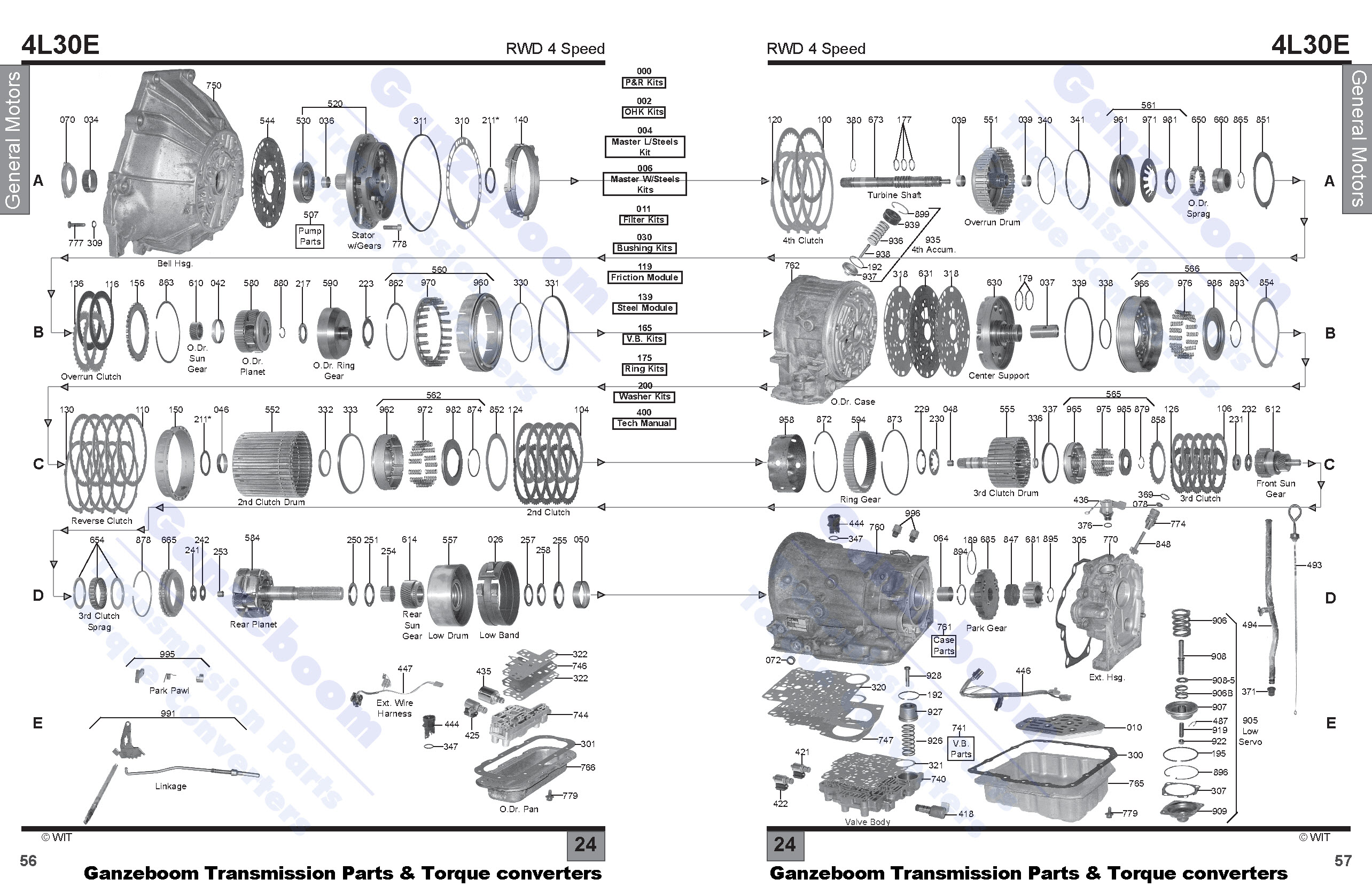 4l30e Transmission Diagram