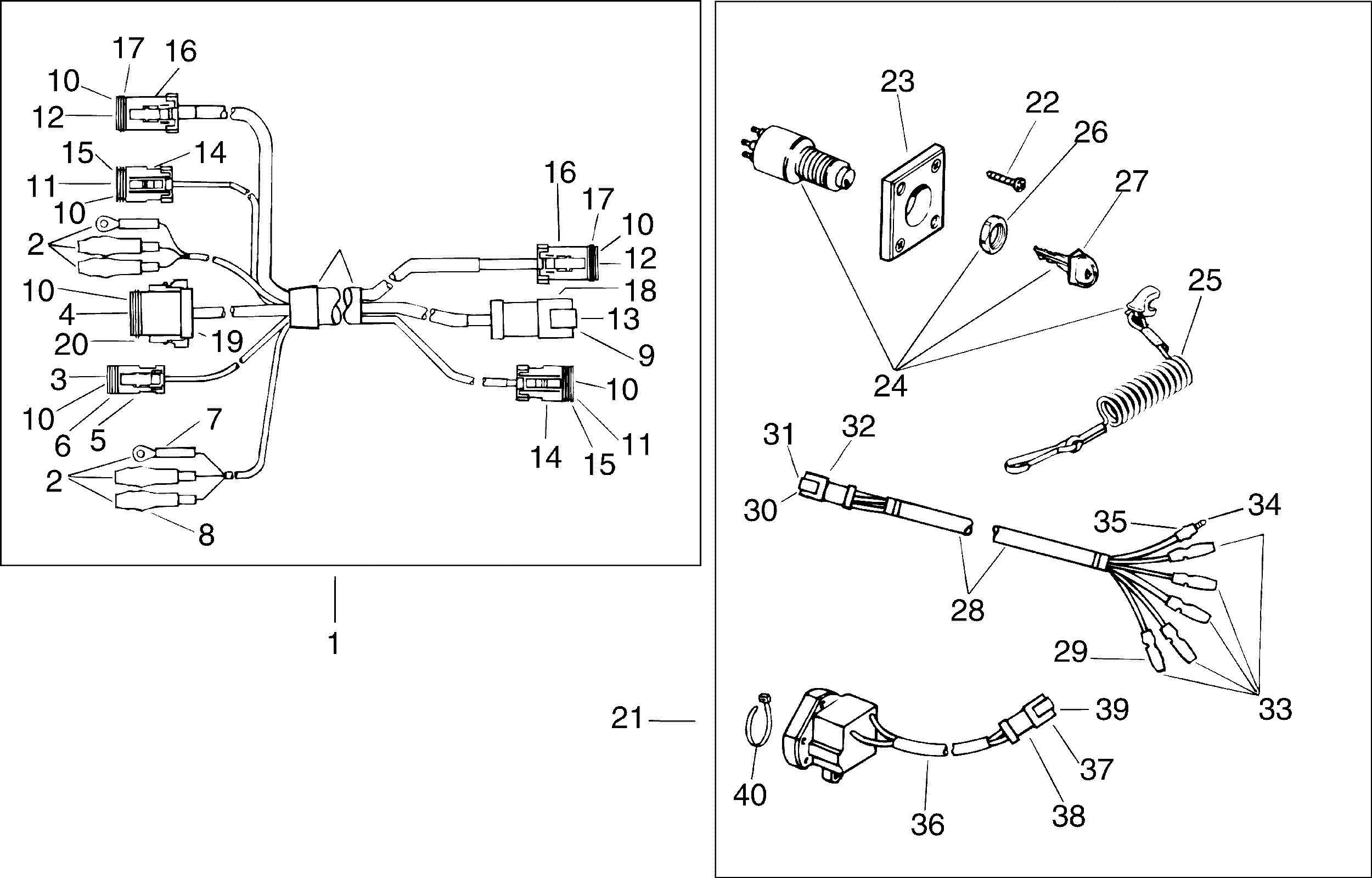 50 Hp Johnson Wiring Diagram