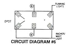 Phenomenal 6 Pin Dpdt Switch Wiring Diagram For Navigation Lights Wiring Digital Resources Indicompassionincorg