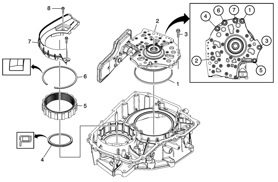 6t70 Transmission Diagram