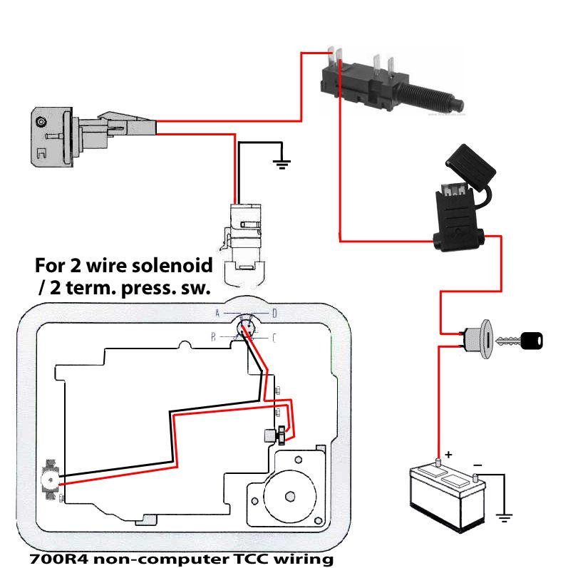 700r4 Lockup Wiring Vacuum Switch