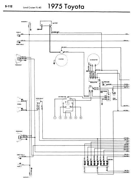 74 Fj Cruiser Wiper Motor Wiring Diagram
