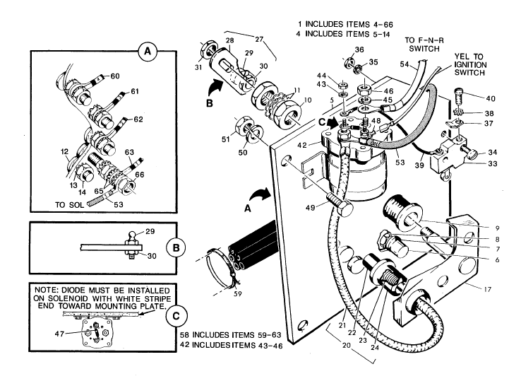 Wiring Diagram For Ezgo Electric Golf Cart from wiringall.com