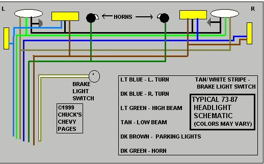 1966 Wire Harness Diagram Chevy C 10